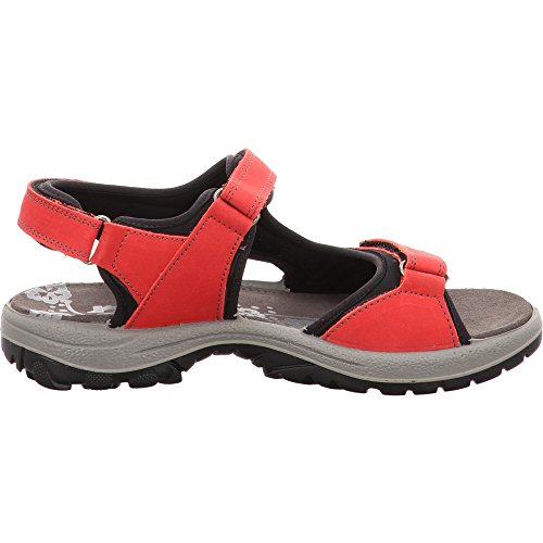 Imac Women's Fashion Sandals Red LTrksENB