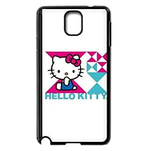 Hello Kitty Triangle Samsung Galaxy Note 3 Cell Phone Case Black&Phone Accessory STC_029682