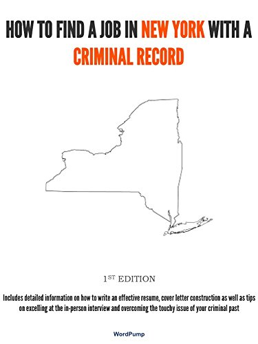 How To Find Criminal Records >> Amazon Com How To Find A Job In New York With A Criminal