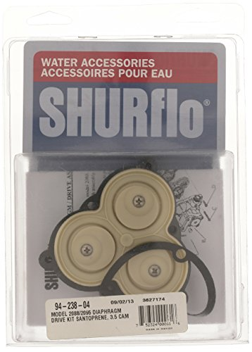 SHURflo 94-238-04 Diaphram Pump with Lower Housing (Shurflo Rv Water Pumps)