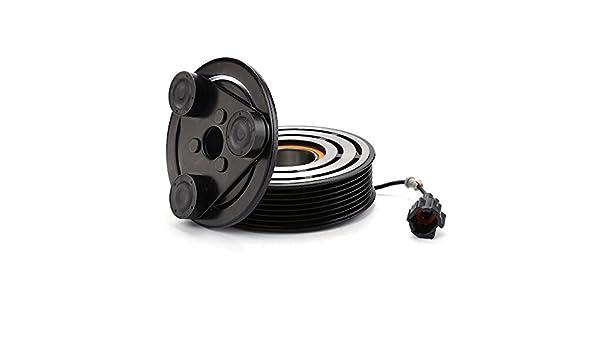 2004 - 2015 Nissan Titan 5,6 L a/c compresor AC Embrague Kit (Polea, cojinete, placa): Amazon.es: Coche y moto