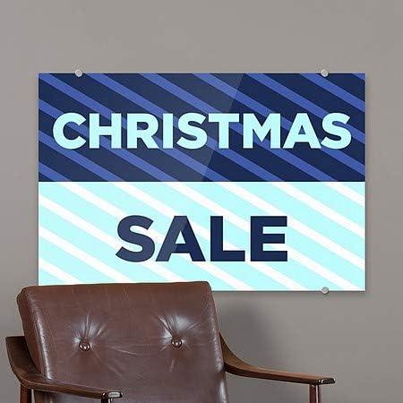 Nautical Stripes Premium Acrylic Sign CGSignLab Annual Sale 36x24