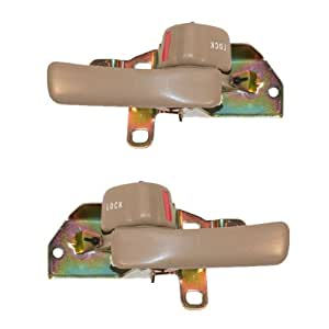 1992 1996 toyota camry beige tan front or rear inside inner interior door handle 1995 toyota camry interior door handle replacement