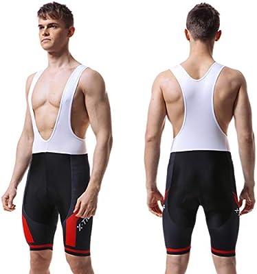 X-TIGER Hombres de Bicicleta con 5D Gel Acolchado MTB Ciclismo ...