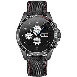 Yihou Smart Watch Touchscreen Fitness Tracker Heart Rate Blood Pressure Smartwatch Pedometer Sleep Monitor Step Calorie Message Reminder Bluetooth Watch