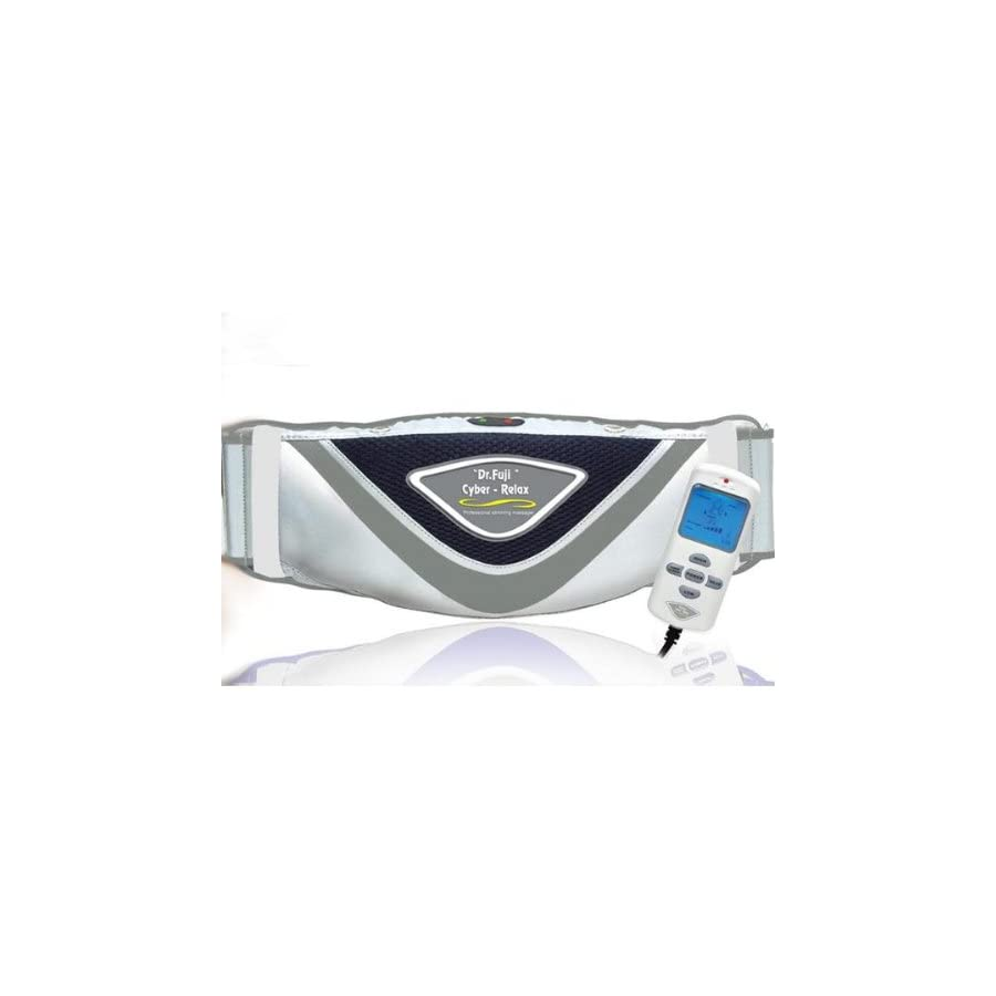 Fujiiryoki FJ 015 Dr. Fuji Cyber Relax Slimming Belt, With heat function to provide hot treatment which is good for promote blood circulation, Super bright LED back light to let user read display more easily, 2 mode and 5 levels for selection to suit for different body areasign