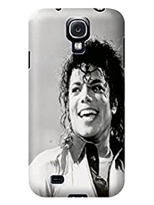 durable Hard TPU phone Case Cover Skin with fashionable Cool Michael Jackson photo For Samsung Galaxy s4