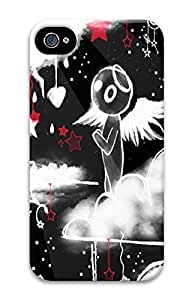 iPhone 4 4S Case Angelic 3D Custom iPhone 4 4S Case Cover