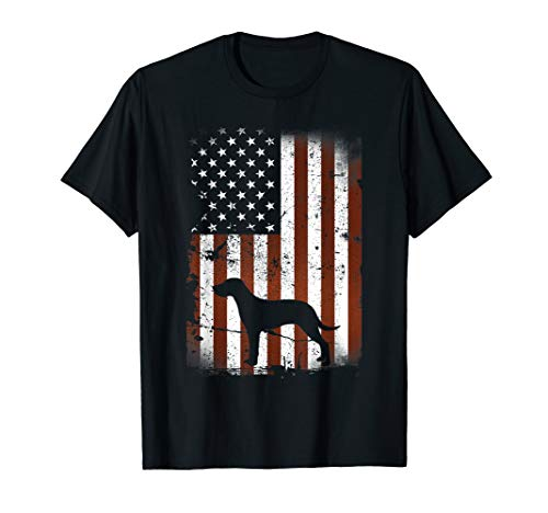 American English Coonhound Flag Dog 4th Of July Dogs Shirt American English Coonhound Dog