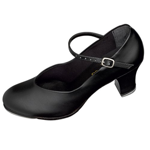 Heel Cuban Black So TA57 Danca Shoes Tap EqvtBY