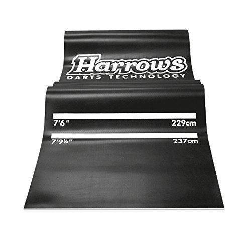 Harrows Professional Tapis de fléchettes professionnel Noir/blanc JE05