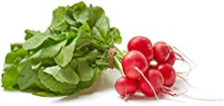 Organic Red Radishes, One Bunch