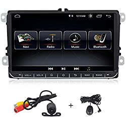 Android 8.1 system 9 inch Car stereo for Volkswagen VW Passat Golf MK5 Jetta Tiguan T5 Skoda Seat GPS Car Navigation GPS Radio