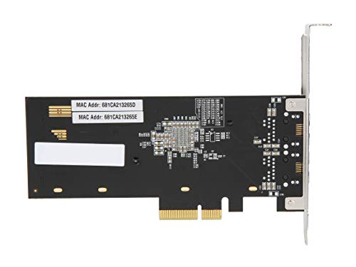 Rosewill RC-NIC416Dual PCIe x4 10 Gbit/s Network Adapter
