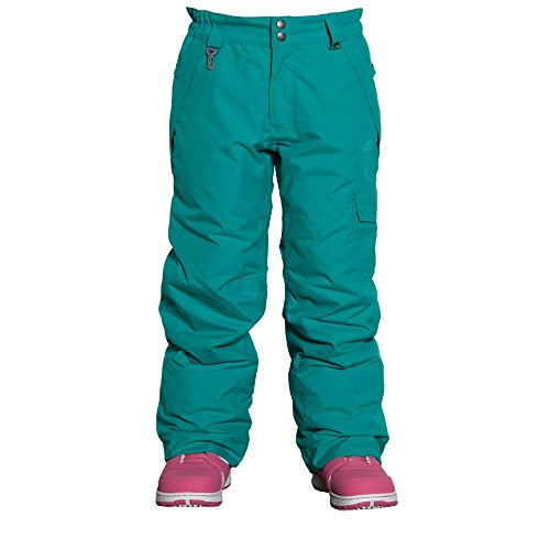 686 Authentic Misty Girls Snowboard Pants Medium Pool by 686