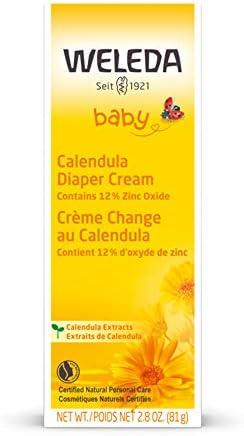 41z1Z8bHlEL. AC - Weleda Baby Calendula Diaper Cream, 2.8 Ounce