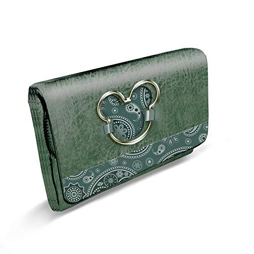 Karactermania paisgreen Cm Largo Verde Mouse Portamonete Mickey 16 Sweet Paisgreen billetero rrpq4w
