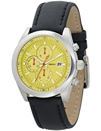 DKNY Men's Black watch #NY1302