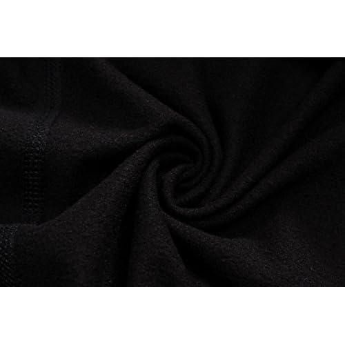 LANBAOSI Women's Long Sleeves Compression Base Layer Fleece Thermal Underwear Running Shirt