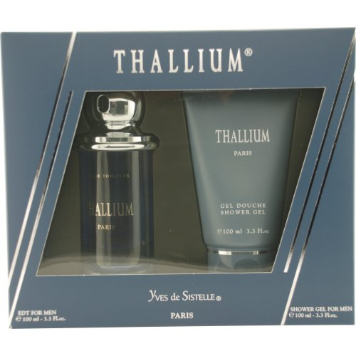 Jacques Evard Thallium Set Eau de Toilette Spray and Shower Gel
