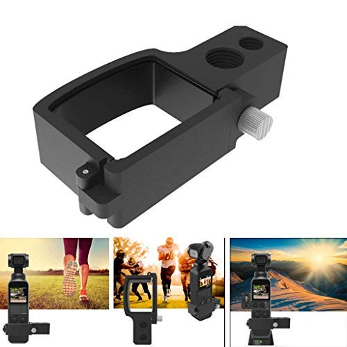 Mottdam Expansion Module Adapter Board Plate Controller Wheel for DJI Osmo Pocket Extended Camera Extension Adpater
