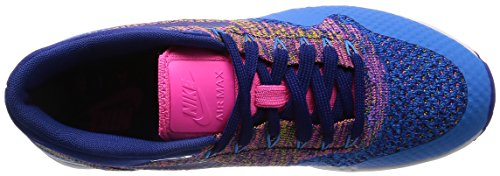 Blast Royal Ultra De pink Air Bleu 1 Max Flyknit Chaussures Blue Nike deep Blue Sport Femme photo tqOwt