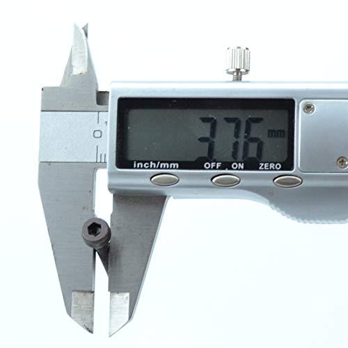 XunLiu 100pcs 304 Stainless Steel PWA Round Head with Pad Self Tapping Screws M2.6 6mm