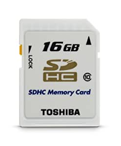 Toshiba 16Gb Class 10 Secure Digital High Capacity Card (THNSH016GTRT)