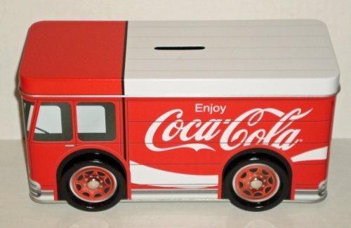 Coca-Cola Tin Truck Bank