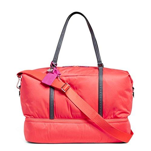 Vera Bradley Midtown Travel Bag, Polyester, Coral Reef by Vera Bradley