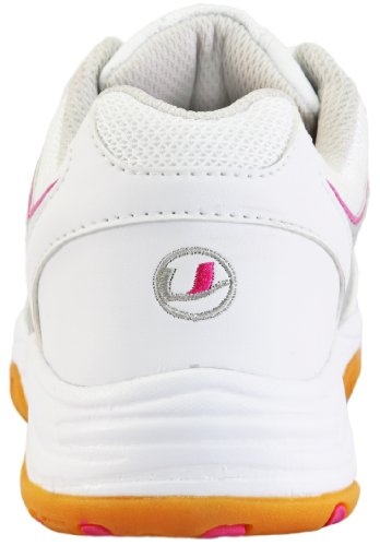 Erwachsenen White Indoor Sportschuh Weiss Ultrasport pink 100 Unisex qP7wO