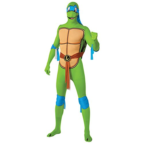 Rubies 2nd Skin Teenage Mutant Ninja Turtle Costume (Leonardo Ninja Turtle Costume Uk)