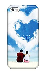 meilinF000Cute Appearance Cover/tpu AwiesDq5c405crkyt Happy Heart Cloud Case For iphone 5/5s(3D PC Soft Case)meilinF000