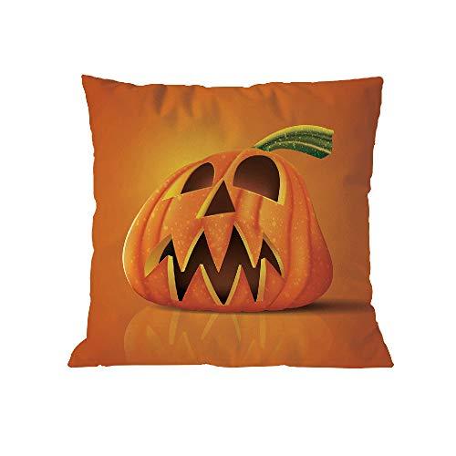 WFeieig_Halloween Autumn Theme Farmhouse Decorative Throw Pillow Covers 18x18 Inch for Sofa Couch Decor]()