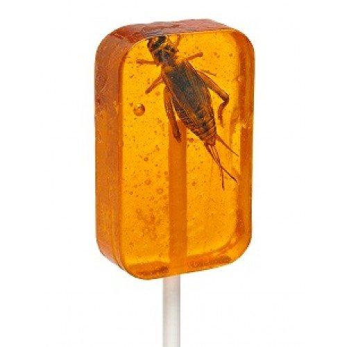Hotlix CRICKET LICK-IT Sucker Insect Candy Lollipop:ASSORTED FLAVOR 36/CTN by Hotlix (Image #3)