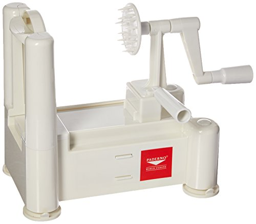 Paderno A4982799 Spiral Vegetable Slicer manual table top 11-7/8
