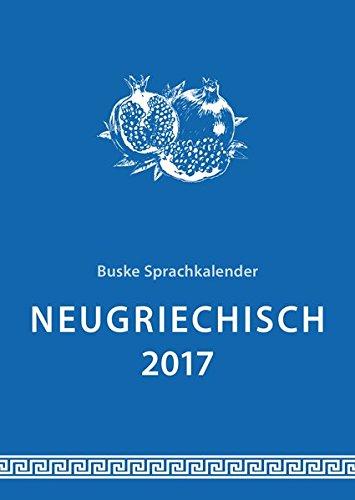 Sprachkalender Neugriechisch 2017