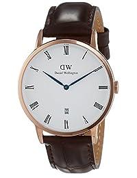 Daniel Wellington Men's Dapper 1102DW Brown Leather Quartz Watch