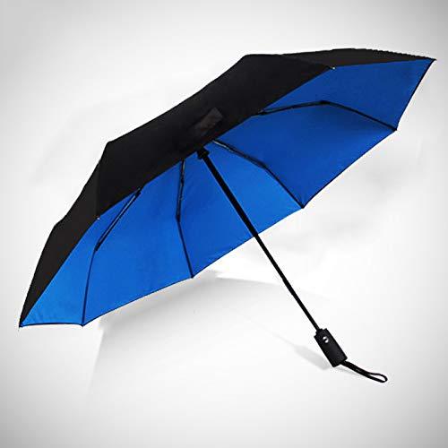 Ynebwcie Doble Capa Tres Paraguas Plegable Anti-UV Paraguas ...