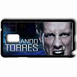 Personalized Samsung Note 4 Cell phone Case/Cover Skin 2013 spectacular fernando torres Black