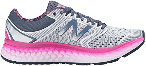 New Balance Womens Fresh Foam 1080v7 Running Shoe Artic Fox/Poisonberry tsI4gUcRPU