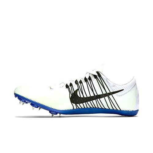 Nike Unisex-Erwachsene Zoom Victory Elite Turnschuhe Weiß / Schwarz / Blau (Weiß / Schwarz-Racer blau)