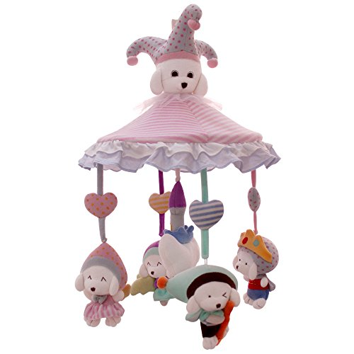 SHILOH Baby Crib Decoration Newborn Gift 60 tunes Pllush Mus
