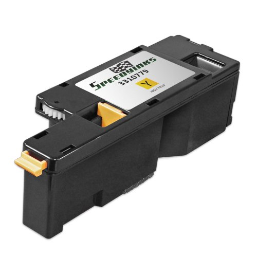 Speedy Inks - Compatible Dell 1250 331-0779 / DG1TR Yellow Toner Cartridge for Dell 1250c, 1350cnw, 1355cn, and 1355cnw Printers