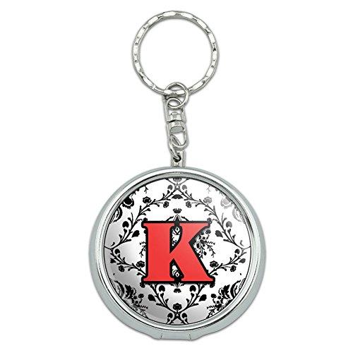 Portable Ashtray Keychain Initial Elegant