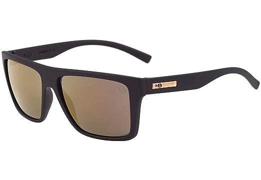 Óculos de Sol Floyd Matte Gold HB Cor Marrom Tamanho  Único  Amazon ... cc869cbce2