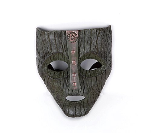 Mens Classical Ballet Costumes (385 Face Mask Halloween Mask Ball Dancing Party Mask Collection Pure Handmade Man Helmet Classical Movie Theme of the Mask (brown))