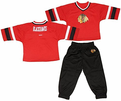 Chicago-Blackhawks-Toddlers-34-Sleeve-Hockey-Jersey-and-Pants-Set-A100028