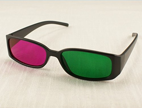 20 Pack Green Magenta Red 3D Glasses for Dimensional Anaglyph DVD Movie Game TV