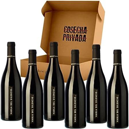 Habla del Silencio - 6 Botellas - Vino Tinto - Mejor Vino de España - VT Extremadura. Seleccionado y Env